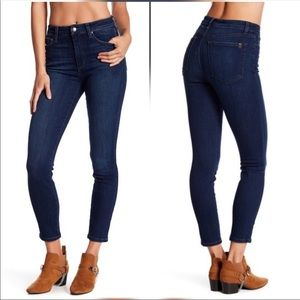 Joe's High Rise Skinny Jeans Size 32 Cassandra